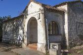Stare domy zniszczone i w ruinach domyślnie — Zdjęcie stockowe
