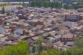 General panoramic view of the town of Palencia, Spain — Stock Photo
