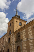 Old historical school in the city of Alcala de Henares, Spain — Stock Photo