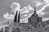 Ruins Cervantes Square Alcala de Henares, Spain — Stock Photo