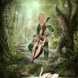 Stock Photo: Elven Forest