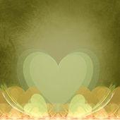 Green Heart — Stock Photo