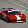 Stock Photo: Ferrari F458 on track at Grand AM Rolex Races on MazdLagunSecRaceway