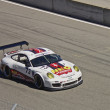 Porsche GT2 on track at Grand AM Rolex Races on Mazda Laguna Seca Raceway — Stock Photo