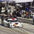 Stock Photo: Ford Can-Am leaving pit stop at Grand AM Rolex Races on MazdLagunSecRaceway