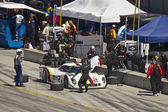 Ford Can-Am on pit stop at Grand AM Rolex Races on Mazda Laguna Seca Raceway — Stock Photo