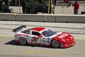 Corvette at Grand AM Rolex Races on Mazda Laguna Seca Raceway — Stock Photo