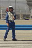 Pit Crew at Grand AM Rolex Races on Mazda Laguna Seca Raceway — Stock Photo