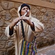 Stock Photo: MoroccStreet Flutist