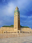 Third largest Mosque Hassan II in Casablanca Morocco — Stock Photo