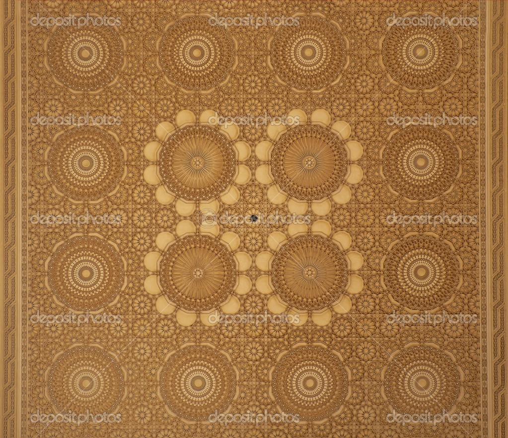 Soffitto design marocchino arabesco foto stock for Arabesque style decoration