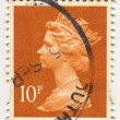 Postage stamp. - Foto de Stock  