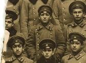 Yaklaşık 1880 çocuklarçok odessa gymnasium vintage fotoğraf. — Stok fotoğraf