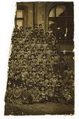 某男生敖德萨体育馆,大约 1880年老式照片. — 图库照片