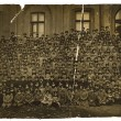 Stock Photo: Vintage photo of schoolboys Odessgymnasium, circ1880.