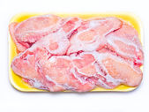 Frozen chicken. — Stock Photo
