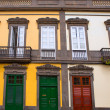 Las Palmas de Gran Canaria Vegueta houses — Stock Photo