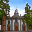 Gran Canaria Teror church Canary islands — Stock Photo