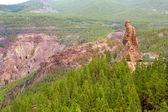 Gran Canaria roque el fraile in Tejeda — Stock Photo