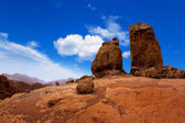 Gran canaria Roque Nublo blue sky — Stock Photo