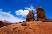 Gran canaria Roque Nublo blue sky — Stock Photo