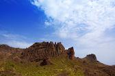 Gran canaria Pargana muntains Canary islands — Stock Photo