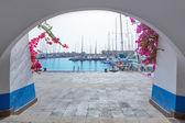 Gran canaria Puerto de Mogan marina boats — Stock Photo