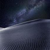 Desert sand dunes in Maspalomas Gran Canaria — Stock Photo