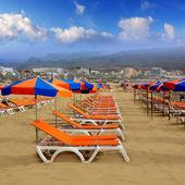 Playa del Ingles Maspalomas beach in Gran Canaria — Stock Photo