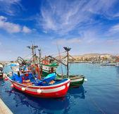 Arguineguin Puerto in Mogan Gran Canaria — Stock Photo
