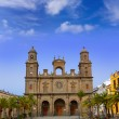Cathedral of Santa Ana in Gran Canaria — Stock Photo