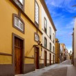 Las Palmas de Gran Canaria Veguetal houses - Stock Photo