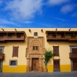 Columbus House Las Palmas Gran Canaria - Stock Photo