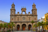 Katedralen i santa ana i gran canaria — Stockfoto