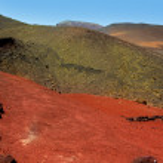 Lanzarote Timanfaya Fire Mountains volcanic lava — Stock Photo #12753981
