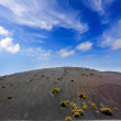 Lanzarote Timanfaya Fire Mountains volcanic lava — Stock Photo #12754387