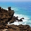 Lanzarote El golfo Atlantic ocean volcanic shore — Stock Photo