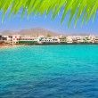 Stock Photo: Lanzarote PlayBlancbeach in Atlantic