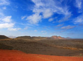 Lanzarote Timanfaya Fire Mountains volcanic lava — Stock Photo
