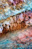 Lanzarote Timanfaya colorful lava stone — Stock Photo