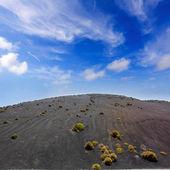 Lanzarote Timanfaya Fire Mountains volcanic lava — Stock Photo