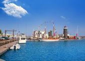 Lanzarote Marina Rubicon Playa Blanca — Stock Photo