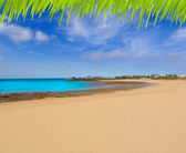 Arrecife Lanzarote Playa del Reducto beach — Stock Photo