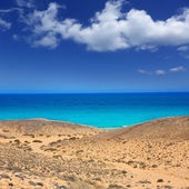 Lanzarote south Punta Papagayo sea in Canaries — Stock Photo
