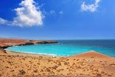 Papagayo caleta del Congrio beach in Lanzarote — Stock Photo