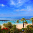 Beach Las Teresitas in Santa cruz de Tenerife north — Stock Photo #12822292