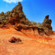 Canary islands in Tenerife Teide National Park - Stock Photo