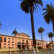 Ayuntamiento square in La Orotava Tenerife — Stock Photo