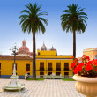 Ayuntamiento square in La Orotava Tenerife — Stock Photo