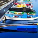 Los Cristianos harbor port in Adeje coast Arona — Stock Photo